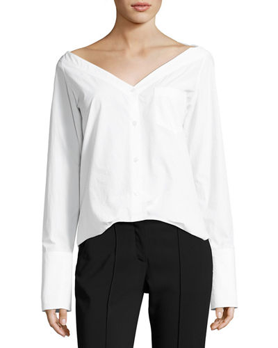 A.L.C. Bateau Neck Long Sleeve Top Clearance Get To Buy Collections For Sale ymVtr