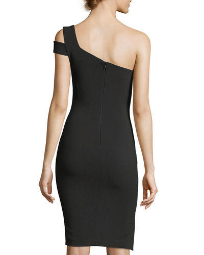 Packard One-Shoulder Cocktail Dress