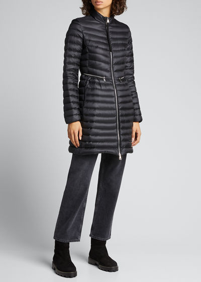Agatelon Zip-Front Quilted Puffer Coat Quick Look. Moncler 4ab88a2d481e3