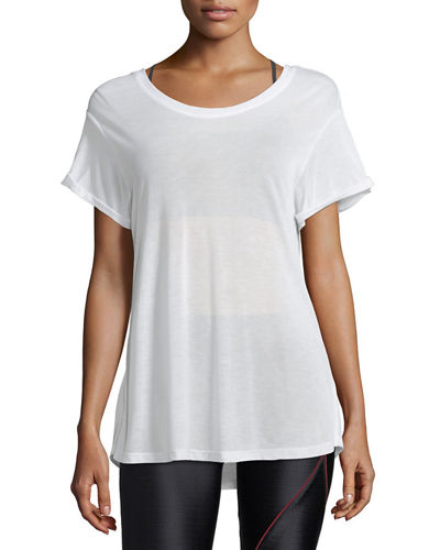 Euphoria Scoop-Back Performance Jersey Top