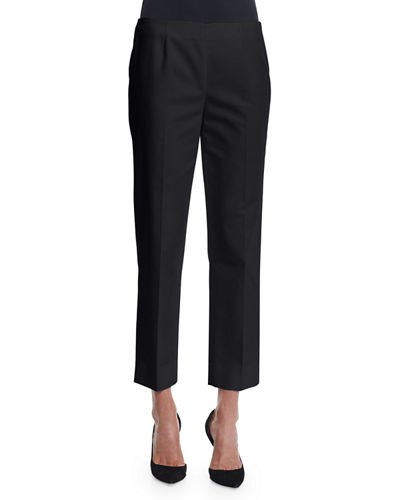 Metro Stretch Cropped Lexington Pant