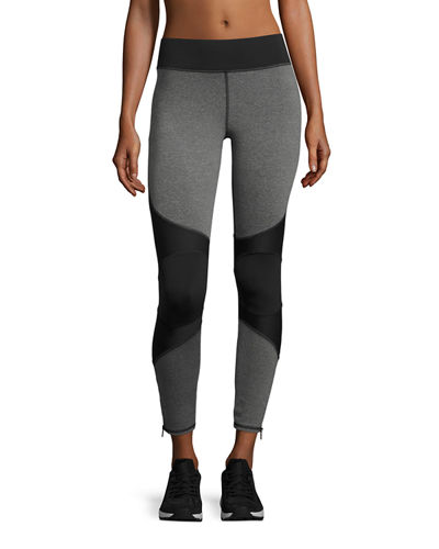 Moto Zip Performance Legging