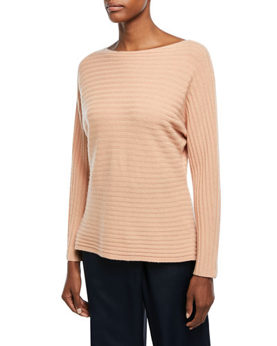 Self-Tie Back Dolman Sweater