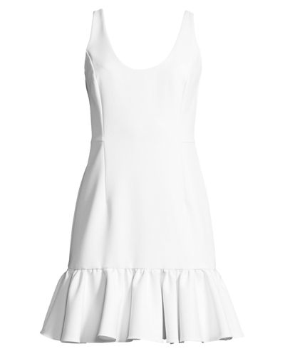 Geneva Sleeveless Peplum Mini Dress