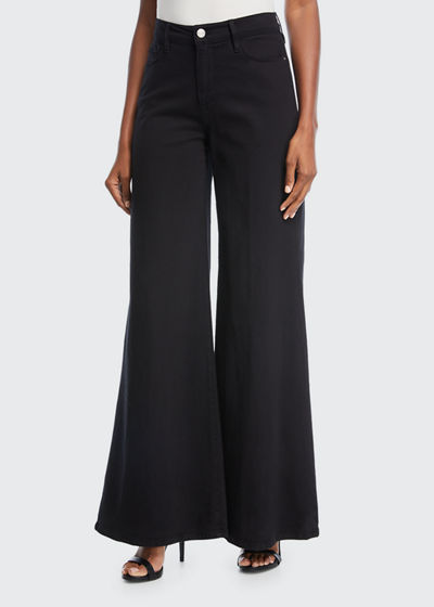 Le Palazzo High-Rise Wide-Leg Pants