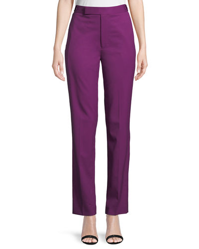 Helmut Lang Straight-Leg Wool Pants