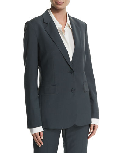 Aaren Continuous Wool-Blend Jacket
