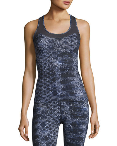 Vidora Vest Sleeveless Printed Top