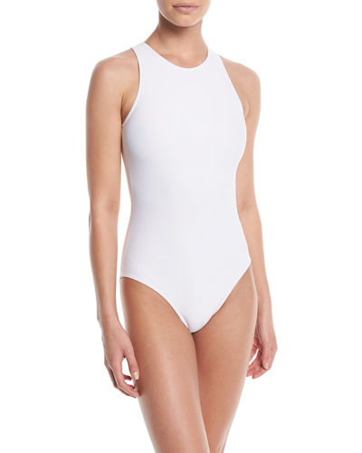 Cardodive Solid One-Piece Swimsuit