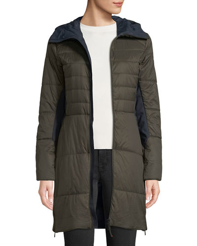 Jill Fitted Puffer Coat w/ Hood