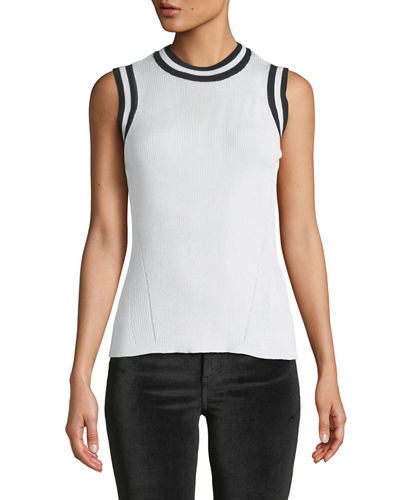 Priya Crewneck Knit Tank Top
