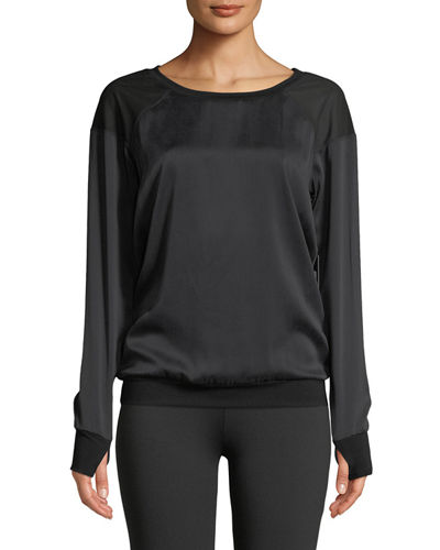 Natoma Long-Sleeve Pullover Sweater