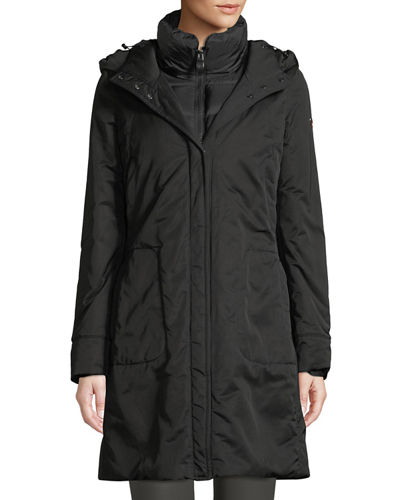 Post Card Kamet Hooded Down Parka Coat w/