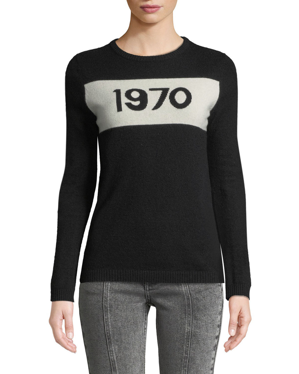 1970 Graphic Pullover Sweater