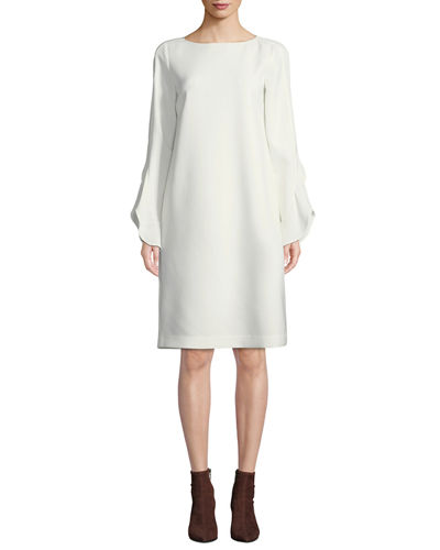 Lafayette 148 New York Emory Finesse Crepe Shift