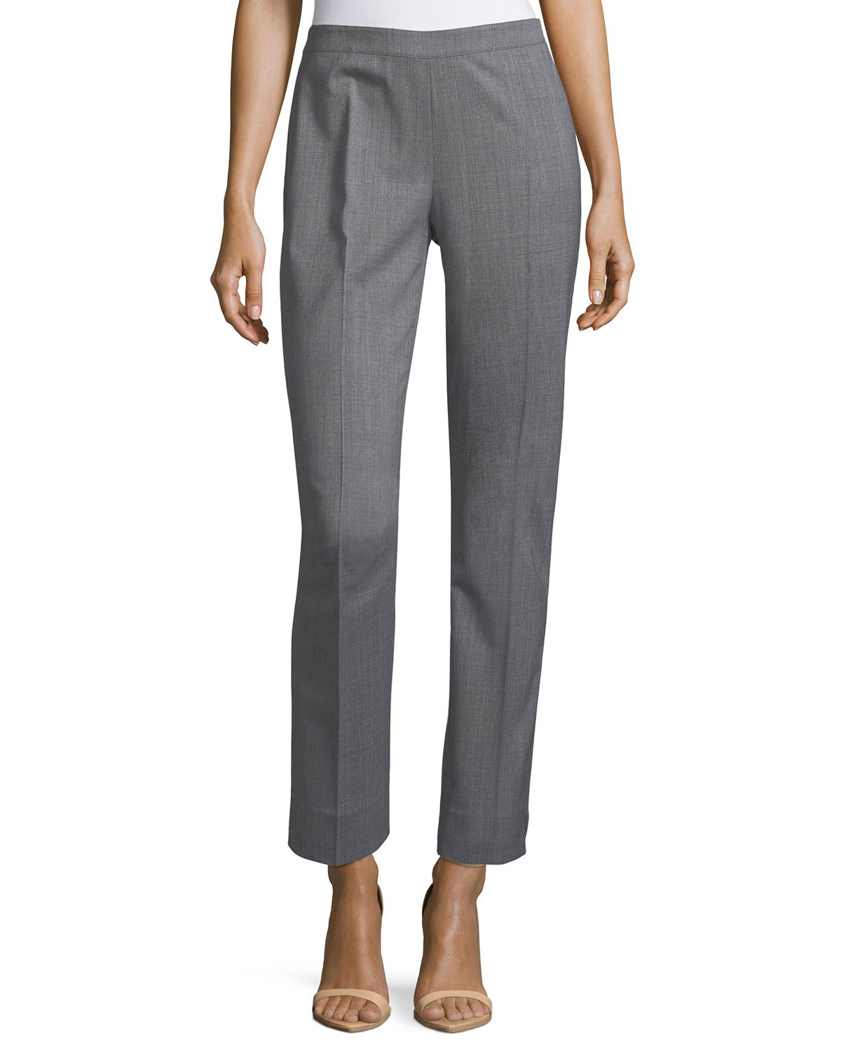 Lafayette 148 Pants BLEECKER STRETCH-WOOL PANTS