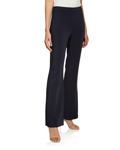 Vana Wide-Leg Full-length Pull-On Pants