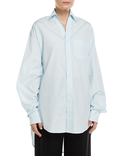 Oversized Classic Button-Down Shirt
