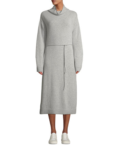 610e554c5ef Vince Wool-Cashmere Turtleneck Long Dress