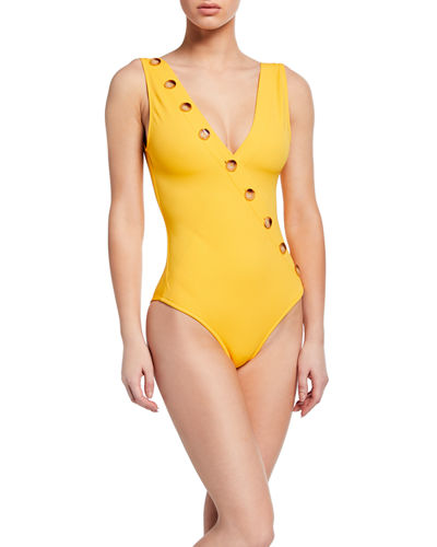 Kate High-Leg One-Piece Swimsuit