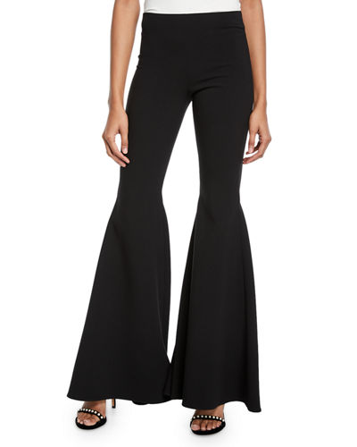 Jinny Back Zip Full Length Pants