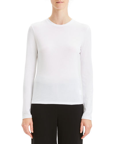 Apex Long-Sleeve Crewneck Tiny Tee
