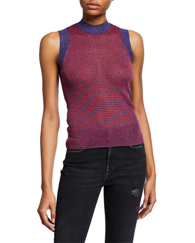 9097780d8b0cc Raina Slim Ribbed Crewneck Tank Top Quick Look. Rag   Bone