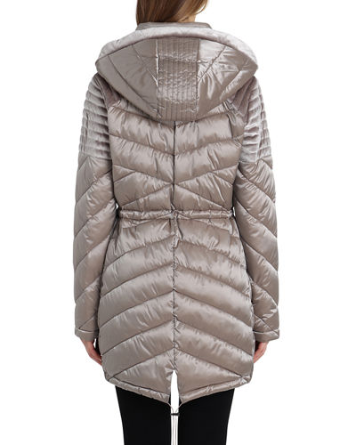 Mallory Quilted Puffer Coat