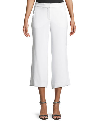 Eloisa Cropped Straight-Leg Pants