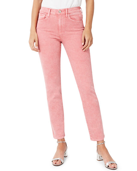 3x1 Jeans STEVIE HIGH-RISE CROPPED STRAIGHT-LEG JEANS
