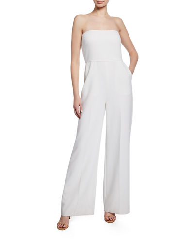 Julie Strapless Wide-Leg Jumpsuit