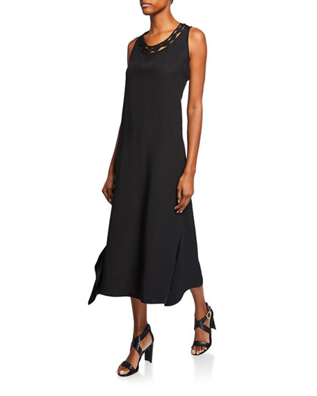 Kobi Halperin Dresses KEIRA SCOOP-NECK SLEEVELESS MAXI DRESS