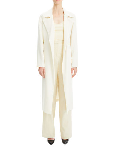 43caf3bb3b Simple Open-Front Long Trench Coat Quick Look. Theory