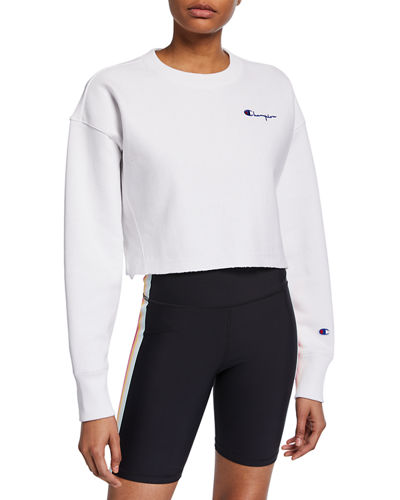 Champion Europe Reverse Weave Reverse Weave Cropped Sweatshirt