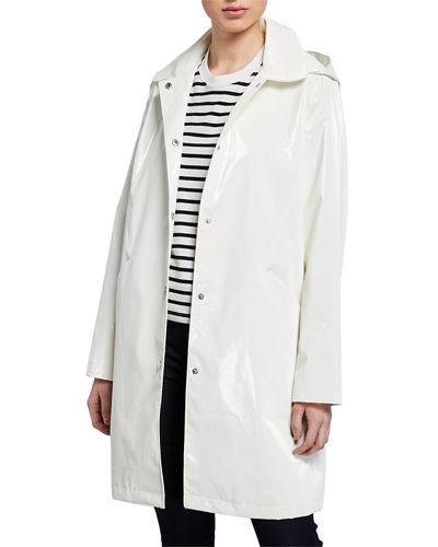 Raincoat Trench w/ Removable Hood