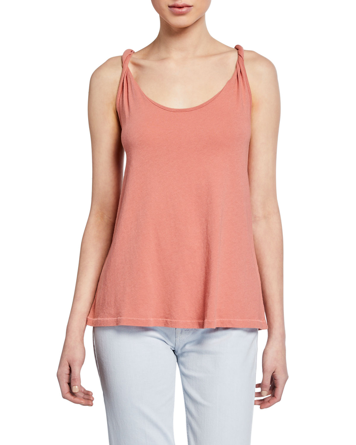 Current Elliott THE TWISTED SCOOP-NECK TANK
