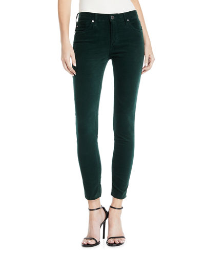 The Legging Velvet Ankle Skinny Pants