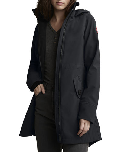 Avery A-Line Hooded Jacket