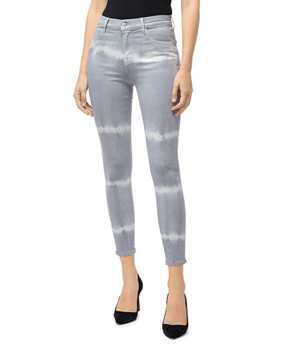 80ef5cee21b02 Alana High-Rise Cropped Coated Jeans Quick Look. GEORGETOWN SHOCKW  CORONAL  SHOCKWAVE. J Brand