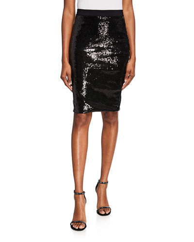 Lilja Sequined Sparkle Skirt