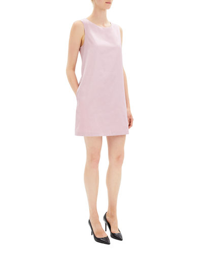 Chintz Cotton Sleeveless Sheath Dress