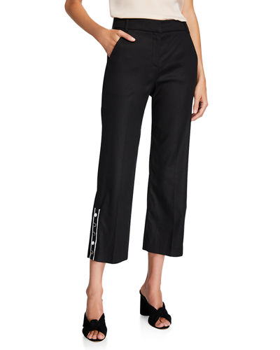Martin Cropped Flare Pants
