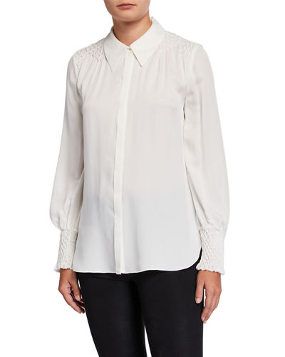 Shayna Long-Sleeve Blouse