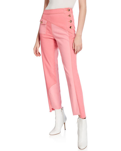 Lucie Patchwork Trousers