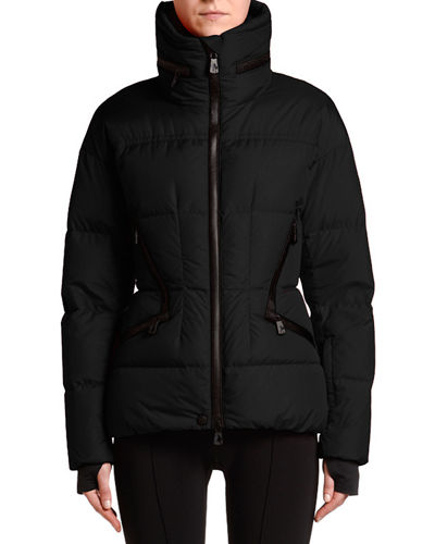 Stand-Collar Fitted Down Dixence Jacket