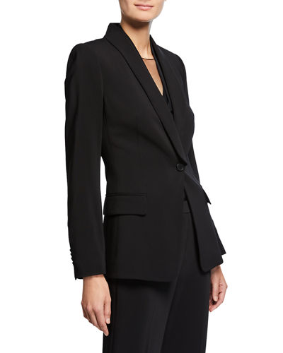 Casey One-Button Jacket