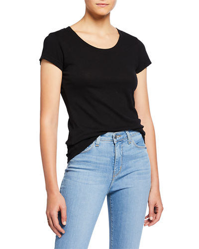 Cory Scoop-Neck Tee