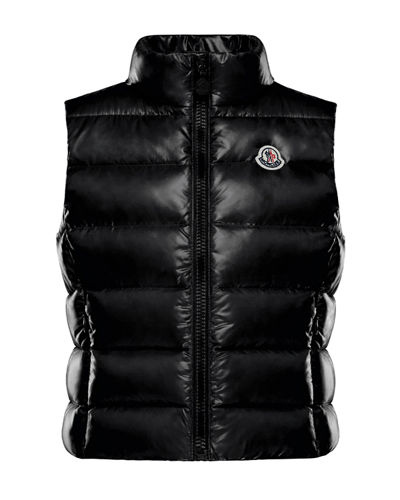 Ghany Quilted Zip-Front Vest  Size 4-6