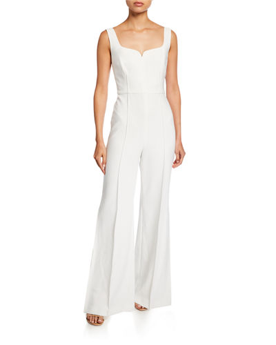 Ainsley Sleeveless Wide-Leg Jumpsuit