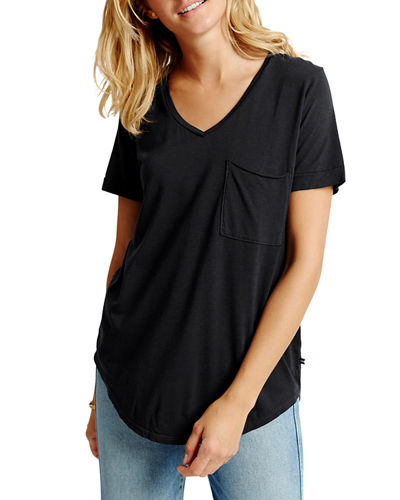 Sol Essential Torque Short-Sleeve V-Neck Tee